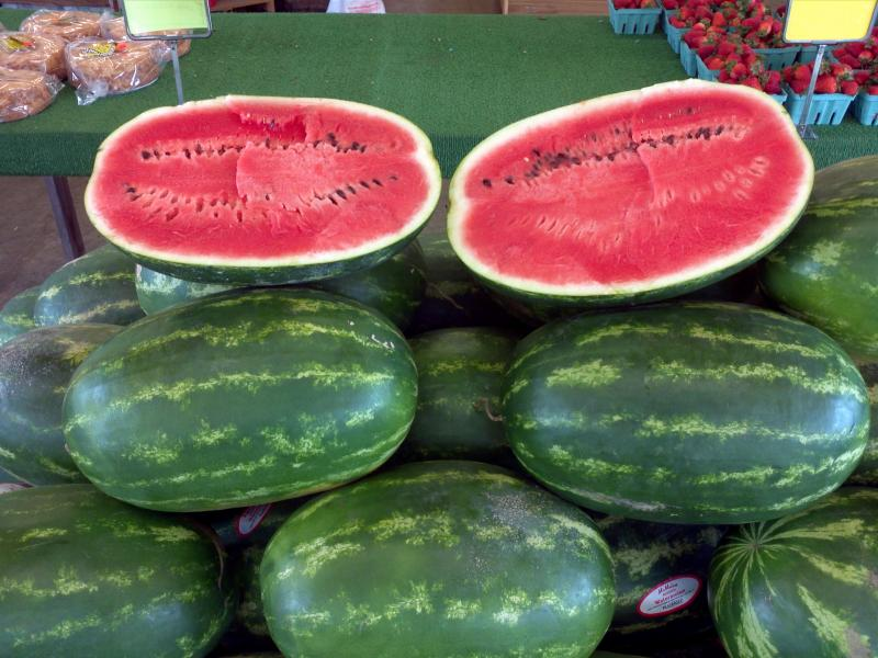 Ice Cold Watermelons